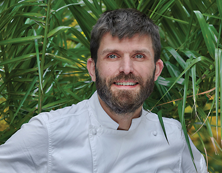 Chef Hervé Deville