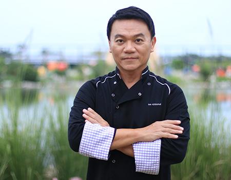 "Chef Pongtawat ""Ian Kittichai"" Chalermkittichai"